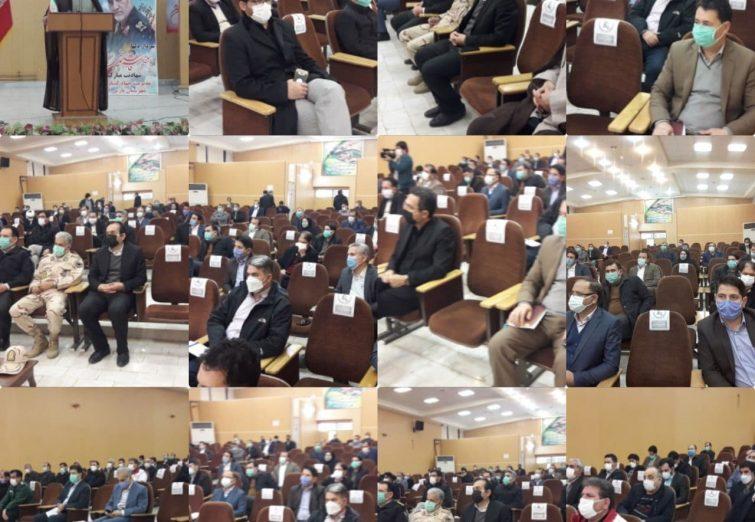 آخرین جلسه شورای شهرستان پارس آباد در سال ۱۳۹۹