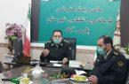 نشست خبری فرماندهی نیروی انتظامی شهرستان پارس آباد