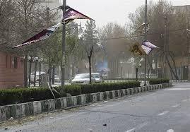 وزش باد شدید در شیراز