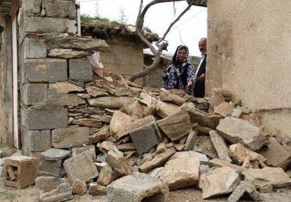 خسارت زلزله به ۶۱۵ واحد مسکونی در مریوان
