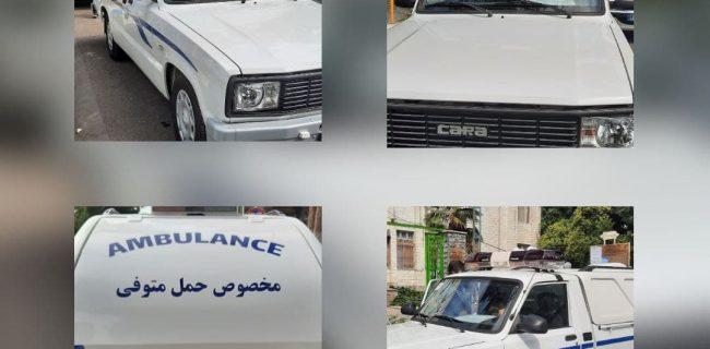 مهندس فروزنده شهردار پارس آباد از خرید یک دستگاه آمبولانس حمل متوفی خبر داد
