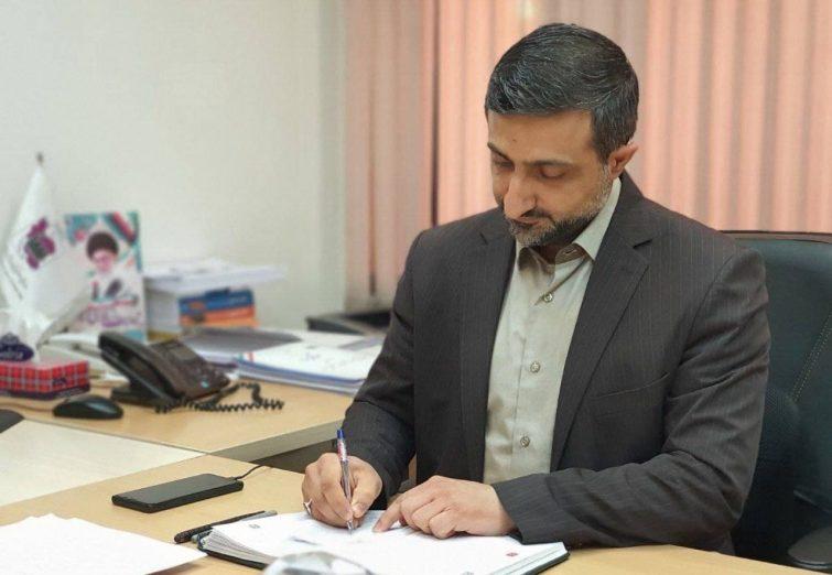 عکس سید حامد عاملی استاندار اردبیل