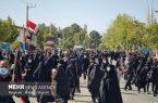 تجمع عزاداران حسینی در وادی رحمت تبریز