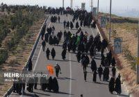 راهپیمایی جاماندگان اربعین در شهر تبریز