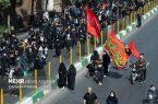راهپیمایی جاماندگان اربعین در شهرستان مرند