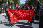 عزاداری پرشور مردم آذرشهر در روز اربعین حسینی