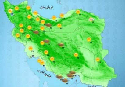 پیش بینی وضعیت هوای اردبیل طی روزهای آینده
